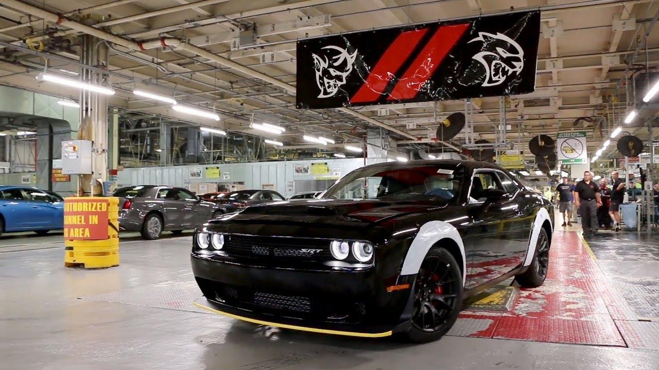 808-HP Carbon-Fiber 2018 Dodge Challenger SRT Demon for Sale ...