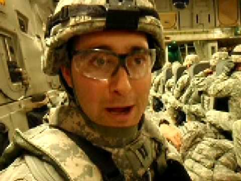 CPT Chris Jones' final words before leaving Kuwait and entering Baghdad.