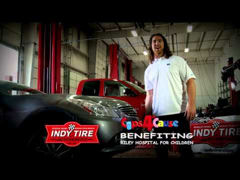 Indy Tire & Colts Player Give Riley A Lift