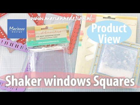 Shaker Windows Squares