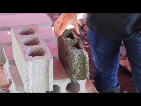 Bud Brown - Making hollow (cinder) blocks in Mindanao