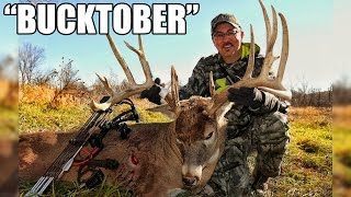 """BUCKTOBER"": Largest Wild Whitetail Taken by Bow in Drury Outdoors History"