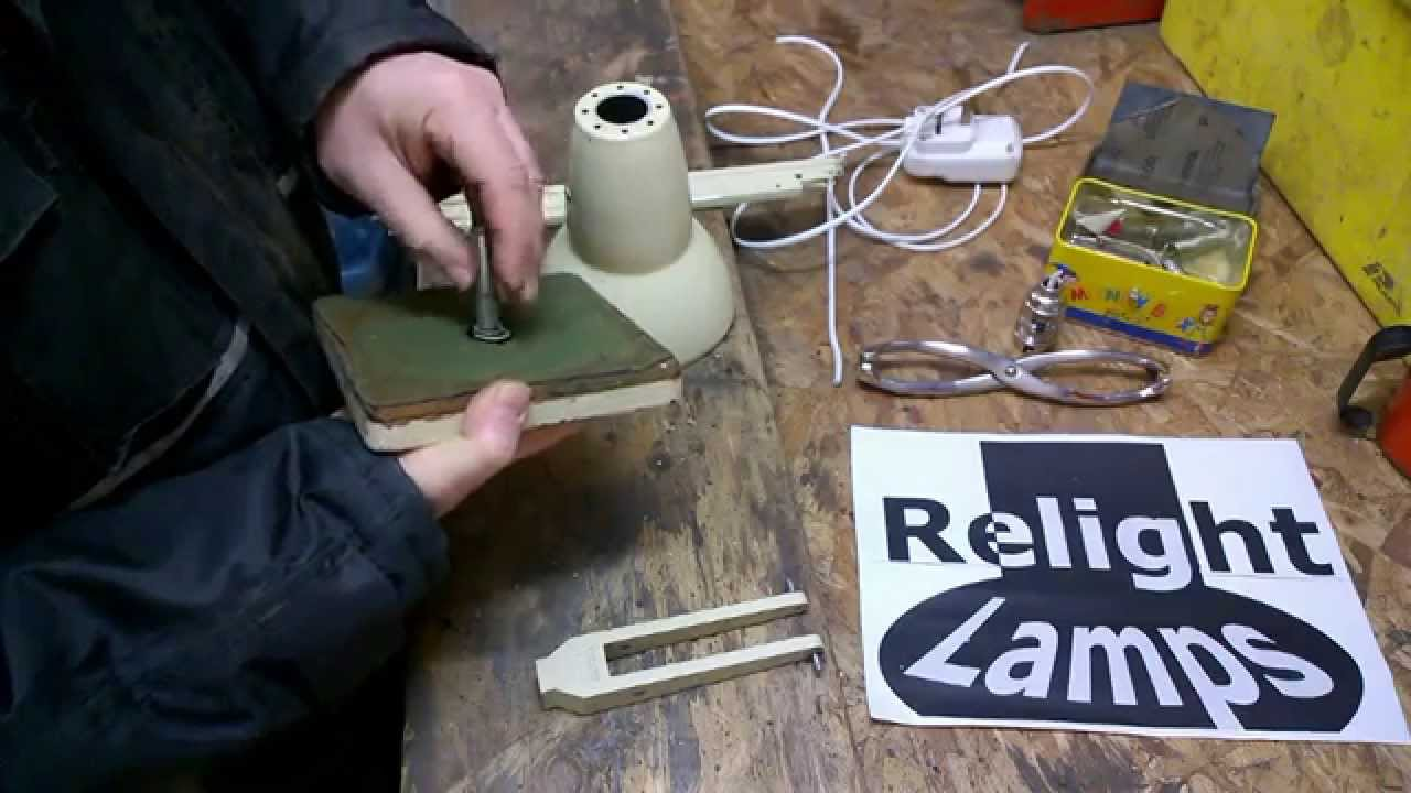 Anglepoise lamp rewire anglepoise restoration