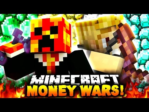 PROFESSIONAL PLAYERS?! | Minecraft MONEY WARS #33