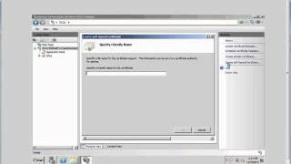 windows 2008 - Create a self signed certificate ( IIS 7 )