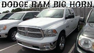 mqdefault Detail 2017 Ram 1500 Big Horn 4x4 Quad Cab 6 4 Box New 15624596