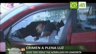 Alias 'Oso Yogui' fue acribillado en camioneta - Trujillo