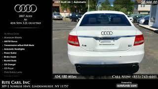 Used 2007 Audi A6   Rite Cars, Inc, Lindenhurst, NY