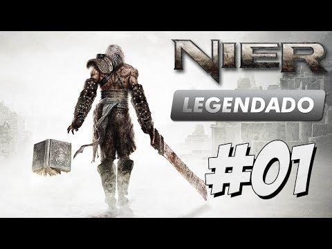 Nier ps3 legendado part 01 - PTBR Português HACK AND SLASH