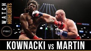 Kownacki vs Martin Highlights: September 8, 2018 - PBC on Showtime