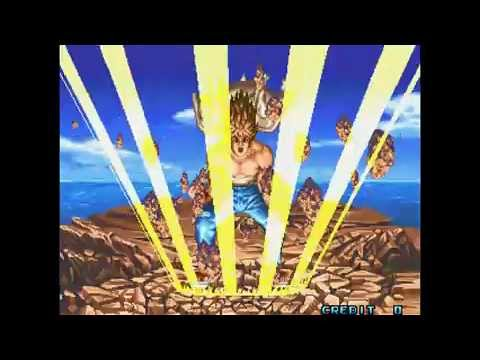 Kaiser Knuckle / arcade attract mode opening intro & auto demo / 1994