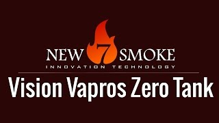 Vision Vapros Zero Tank (Test)