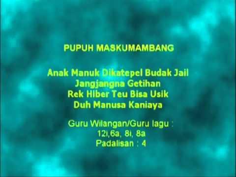 Lagu Sunda dengan  | PUPUH MASKUMAMBANG