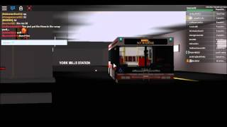 [ROBLOX] TTC Run: New Flyer D40LF Coming out of York Mills Stn #7311