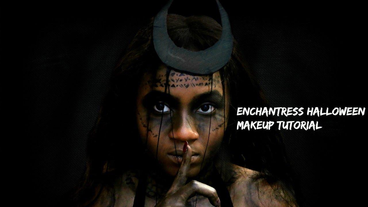 bc76b11fee0 ENCHANTRESS Halloween Makeup Tutorial (Suicide squad) + DressLily GIVEAWAY  (CLOSED)