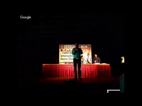 Prize Distribution. Aakar Dance Academy Presents Interschool District Dance Championship
