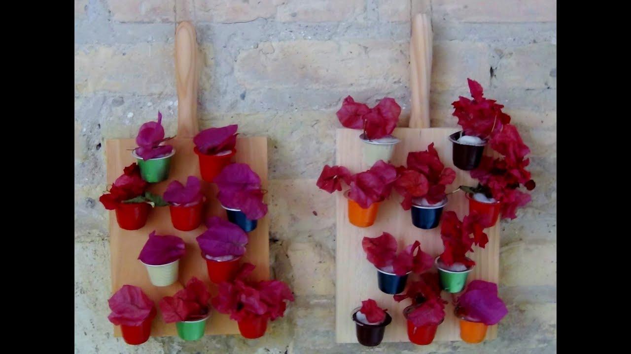 C mo hacer un mini jard n vertical decorativo reciclando - Material para jardin vertical ...
