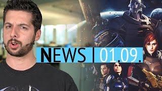 Mass Effect Trilogy Remaster nicht geplant - EVE Online kostenlos spielbar - News