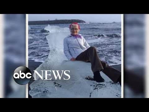 Grandmother swept out to sea on a glacier | GMA