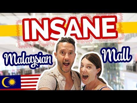 INSANE Malaysian Mall + Trying Weird Desserts in Kuala Lumpur