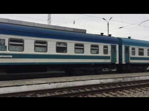 Train Ride From Tashkent To Bukhara
