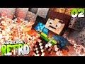 DER DRACHENKÖNIG! • Minecraft RETRO #02   S3   Minecraft Roleplay Deutsch