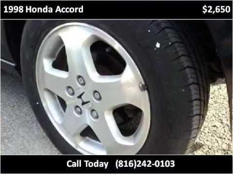 1998 Honda Accord Used Cars Kansas City MO