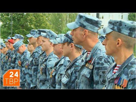 День создания Сергиево-Посадского ОМОН отметили построением | Новости | ТВР24 | Пересвет