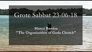 Grote Sabbat 23 juni - Baptism and the Organization of the Movement