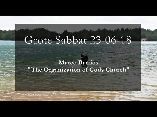 Baptism and the Organization of the Movement - 23 juni 2018