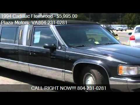 1994 Cadillac Fleetwood Sedan - for sale in Richmond, VA 232