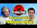 I'm featured in a Pewdiepie video!