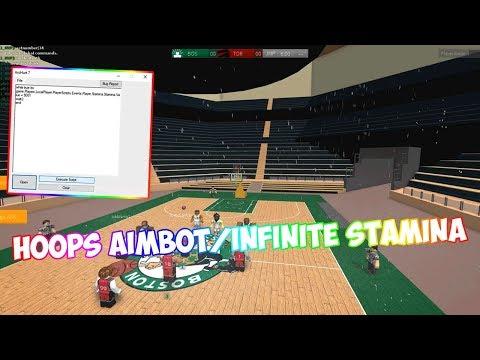 ROBLOX EXPLOITING #9   HOOPS AIMBOT/INFINITE STAMINA!