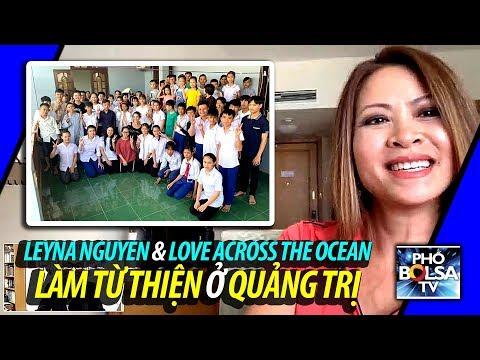 XNV truyền hình Mỹ nổi tiếng gốc Việt Leyna Nguyen làm từ thiện ở Quảng Trị