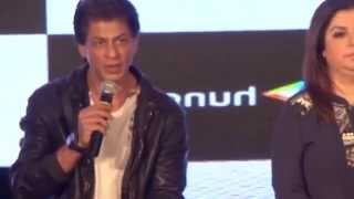 First Time Shahrukh speaks about Son Abram & Aryan