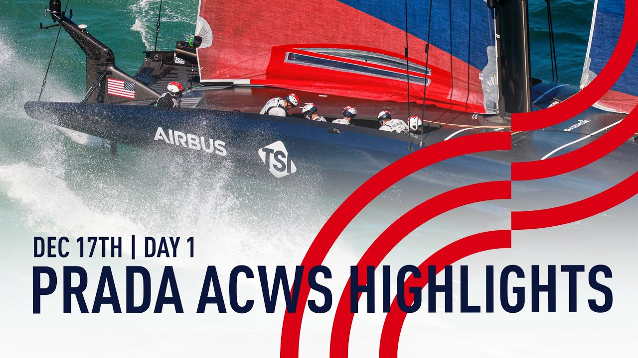 Highlights | Day 1 | PRADA America's Cup World Series Auckland