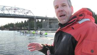 U-Dub Rowing on Montlake Cut