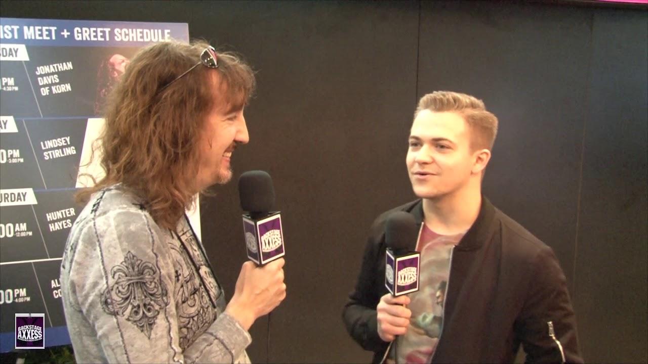 Backstageaxxess Interviews Hunter Hayes Youtube