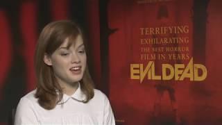 Evil Dead (Зловещие мертвецы: Черная книга) интервью Джейн Леви by A.D.