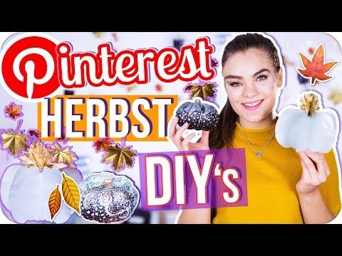 4 HERBST DEKO DIY's - Pinterest Room Decor Ideen // I'mJette