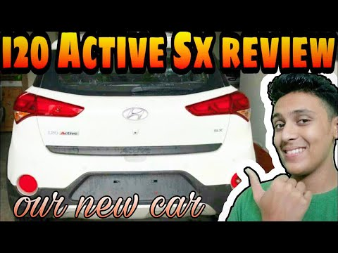 I20 Active Sx review   first vlog   buying new car