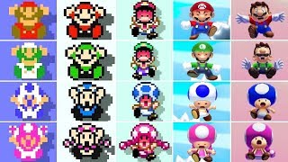 Super Mario Maker 2 - All Character Failures