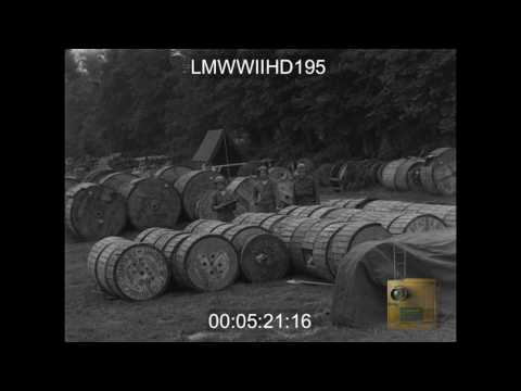 1ST ARMY SIGNAL COVERAGE; 2ND ARMORED DIVISION IN COMBAT IN CONJUNCTION WITH 4TH DIV N - LMWWIIHD195