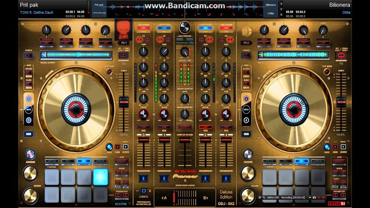 Virtualdj Skins 2015 Ddj Sx Gold Funnydog Tv