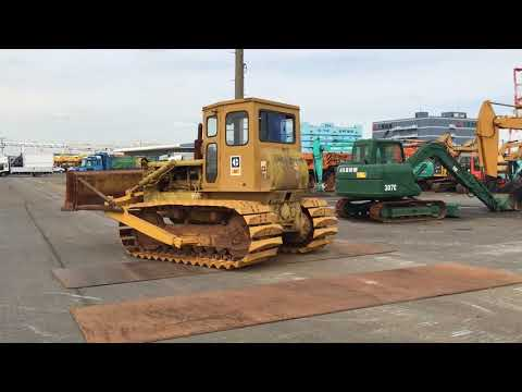 CAT D5 inspection at yokohama port