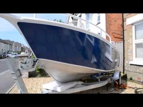 Dorset Fast Fishing Boats 5.3 M Aluminium Fast Fishing Boat