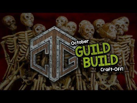 Guild Build Craft Off LAUNCH October! Amazing Secret Prize!