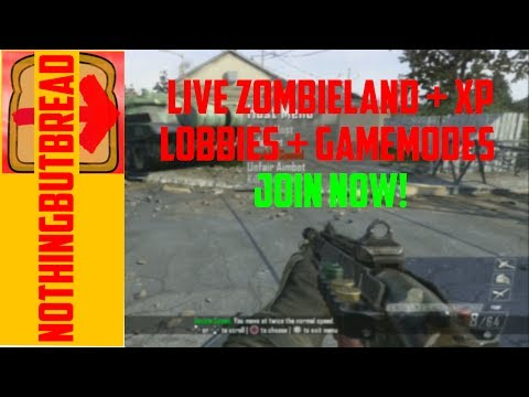 [BO2/PS3] Live XP/Zombieland/Competions + Joinable!
