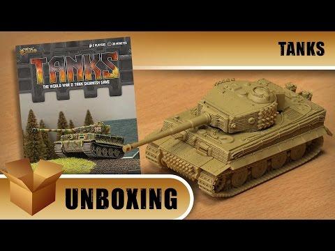 Tanks Unboxing: Tiger 1 Tank Expansion