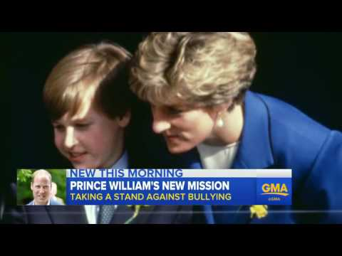 Prince William 'Appalled' by Cyberbullying